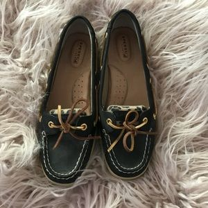 Sperry Cheetah Loafers